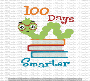 100 DAYS SMARTER (SUBLIMATION)