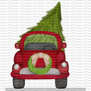 FRONT VIEW CHRISTMAS TRUCK (SUBLIMATION)
