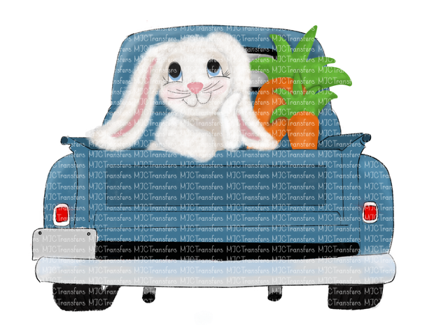 BUNNY TRUCK (SUBLIMATION)