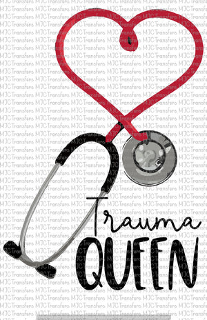 TRAUMA QUEEN (SUBLIMATION)
