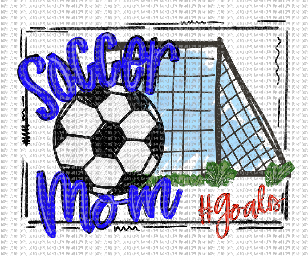 SOCCER MOM (SUBLIMATION)