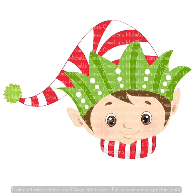 CHRISTMAS ELF (SUBLIMATION)
