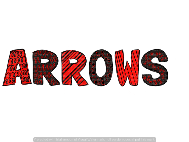 ARROWS (BLACK/RED) (SUBLIMATION)