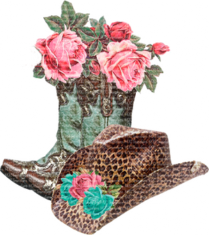 BOOTS AND HAT (SUBLIMATION)
