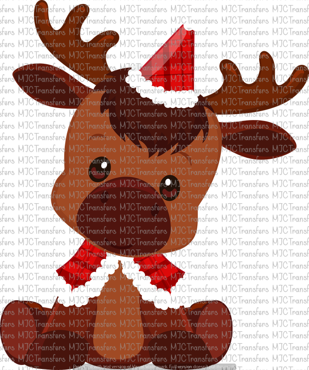 CHRISTMAS MOOSE (SUBLIMATION)