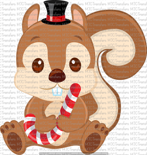 CHRISTMAS CHIPMUNK (SUBLIMATION)