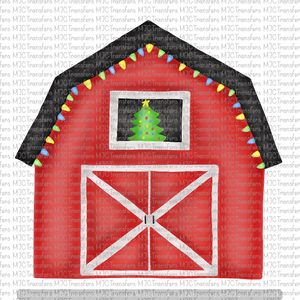 CHRISTMAS BARN (SUBLIMATION)