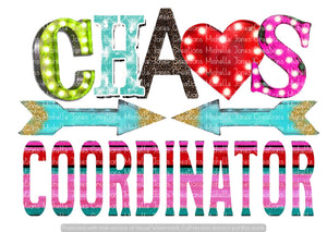 CHAOS COORDINATOR (SUBLIMATION)