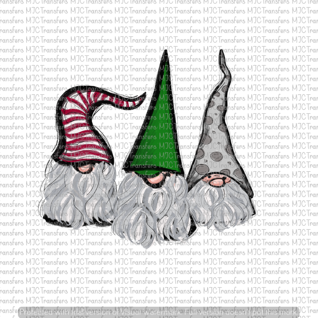 CHRISTMAS GNOMES (SUBLIMATION)