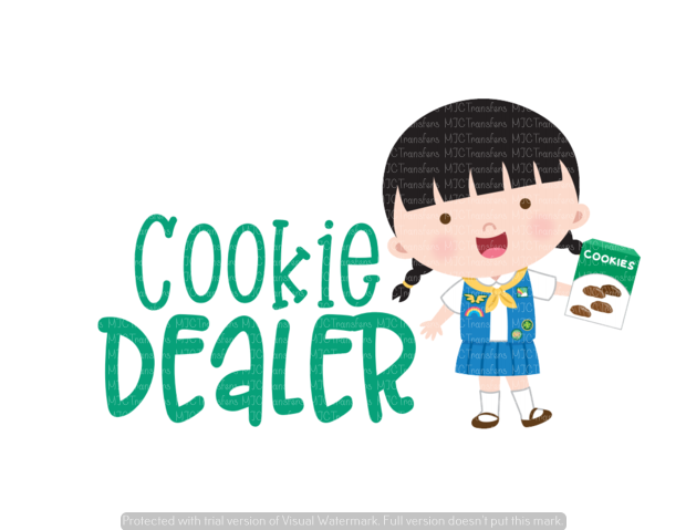 COOKIE DEALER (SUBLIMATION)