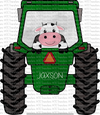 GREEN TRACTOR (SUBLIMATION)
