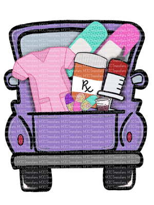 PURPLE PHARMACY TRUCK (SUBLIMATION)