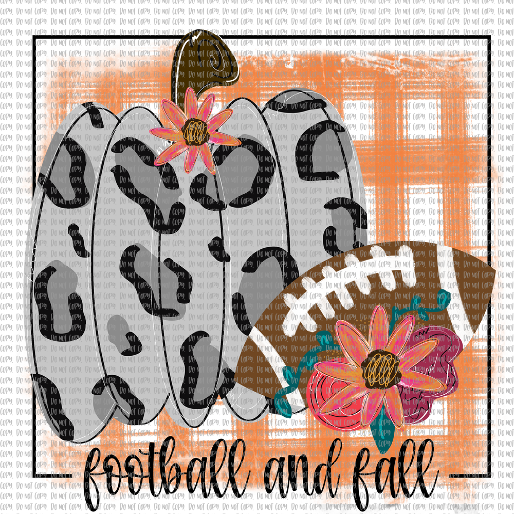 FOOTBALL AND FALL (SUBLIMATION)