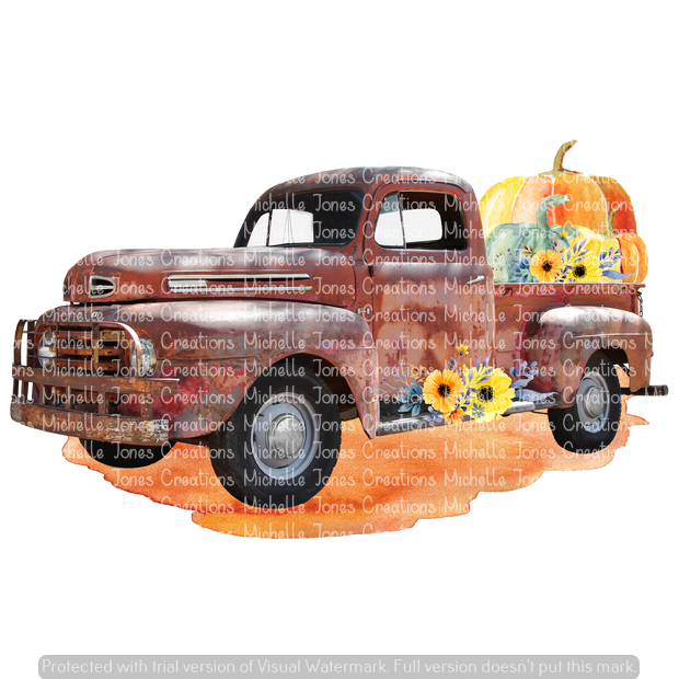FALL TRUCK (SUBLIMATION)
