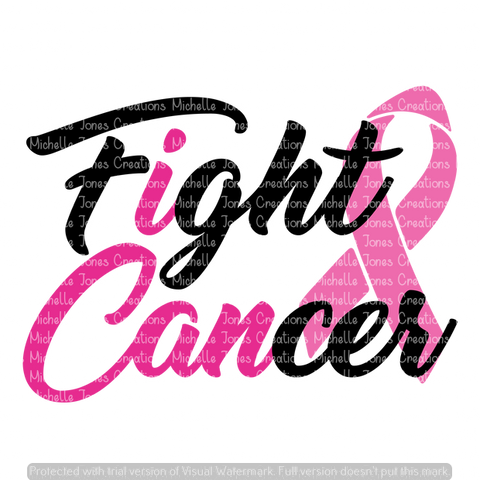 I CAN FIGHT CANCER (SUBLIMATION)