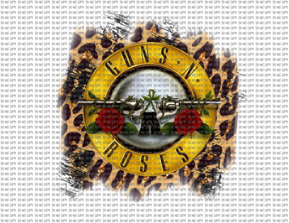 GUNS N ROSES (SUBLIMATION)