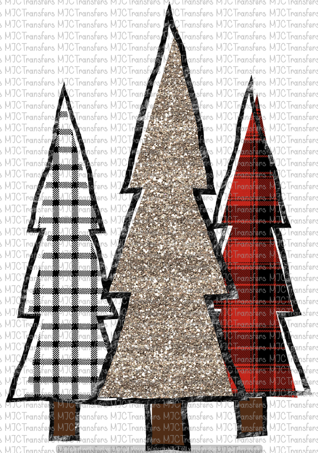 CHRISTMAS TRESS (SUBLIMATION)