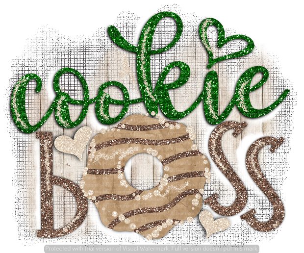 COOKIE BOSS (SUBLIMATION)