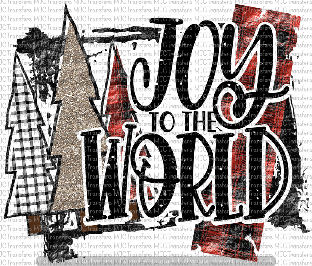 JOY TO THE WORLD (SUBLIMATION)