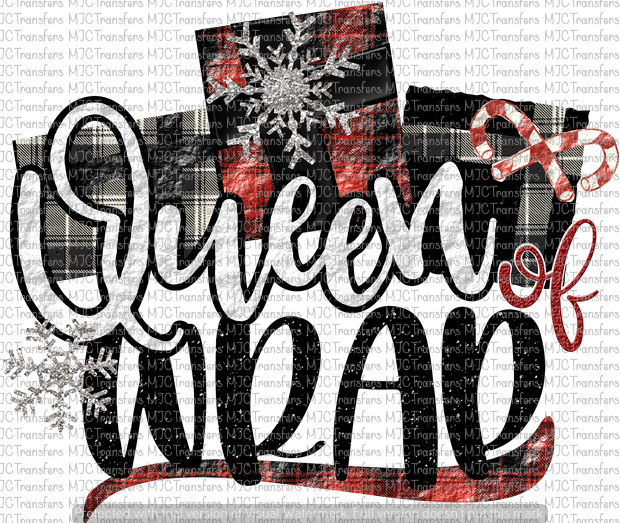 QUEEN OF WRAP (SUBLIMATION)