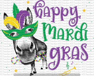 HAPPY MARDI GRAS (SUBLIMATION)