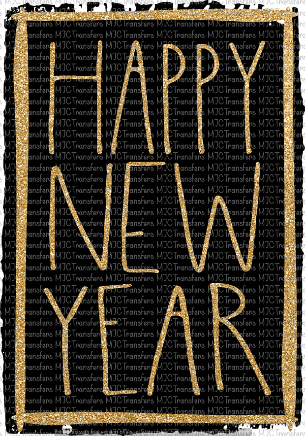 HAPPY NEW YEAR (SUBLIMATION)