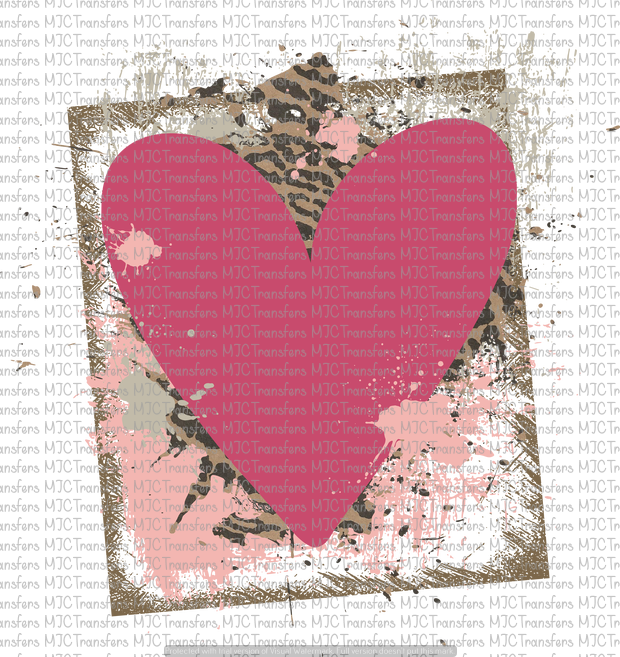 HEART #2 (SUBLIMATION)