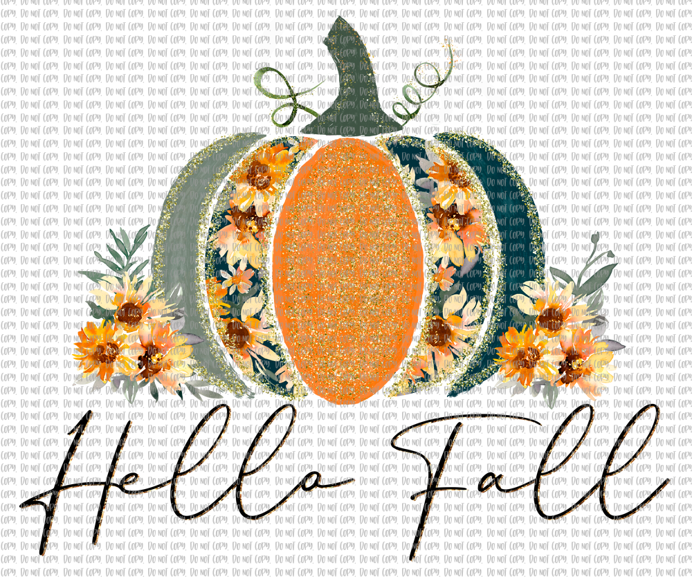 HELLO FALL (SUBLIMATION)