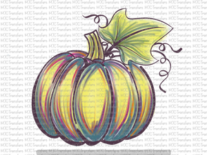 WATERCOLOR PUMPKIN (SUBLIMATION)