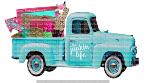 THE JUNKIN' LIFE VEHICLE (SUBLIMATION)
