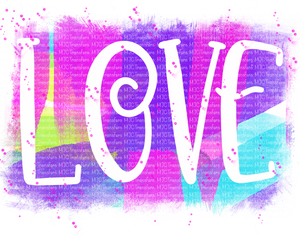 WATERCOLOR LOVE (SUBLIMATION)