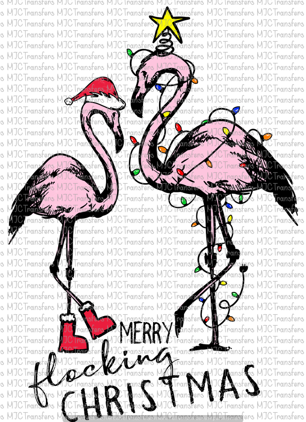 MERRY FLOCKING CHRISTMAS (SUBLIMATION)