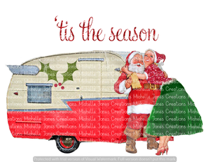 'TIS THE SEASON CAMPER (SUBLIMATION)