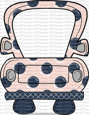POLKA DOT TRUCK (SUBLIMATION)