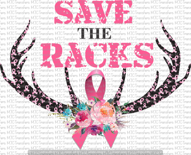 SAVE THE RACKS (SUBLIMATION)