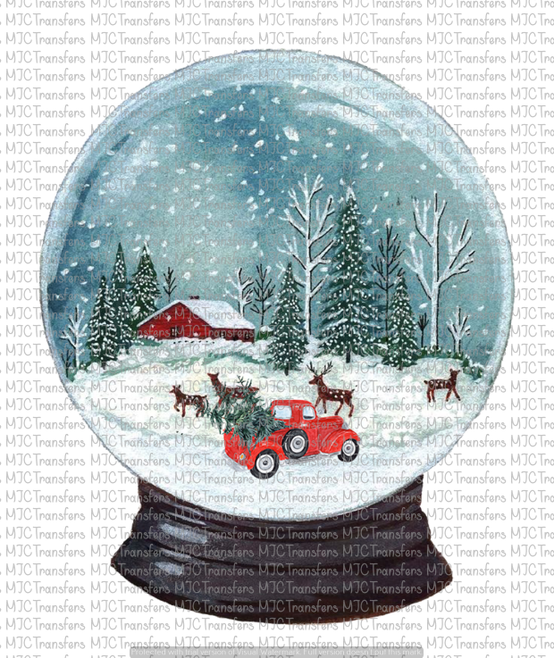 SNOWGLOBE (SUBLIMATION)