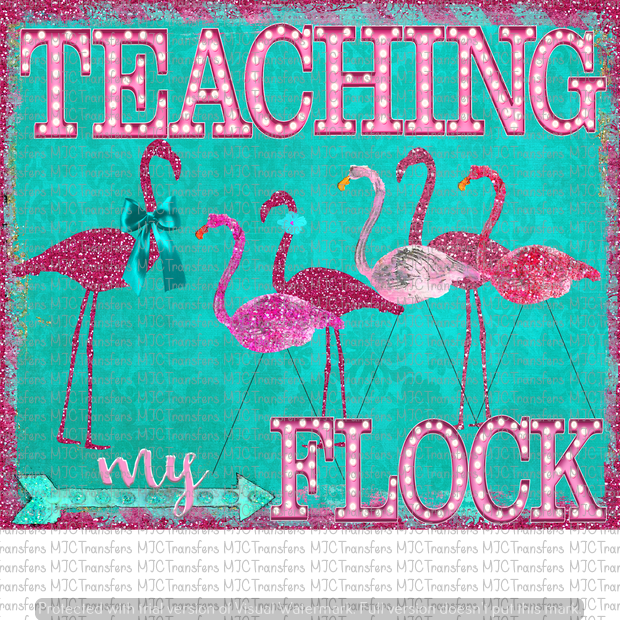 TEACHING MY FLOCK (SUBLIMATION)
