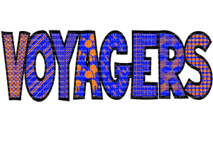 VOYAGERS (BLUE/ORANGE) (SUBLIMATION)