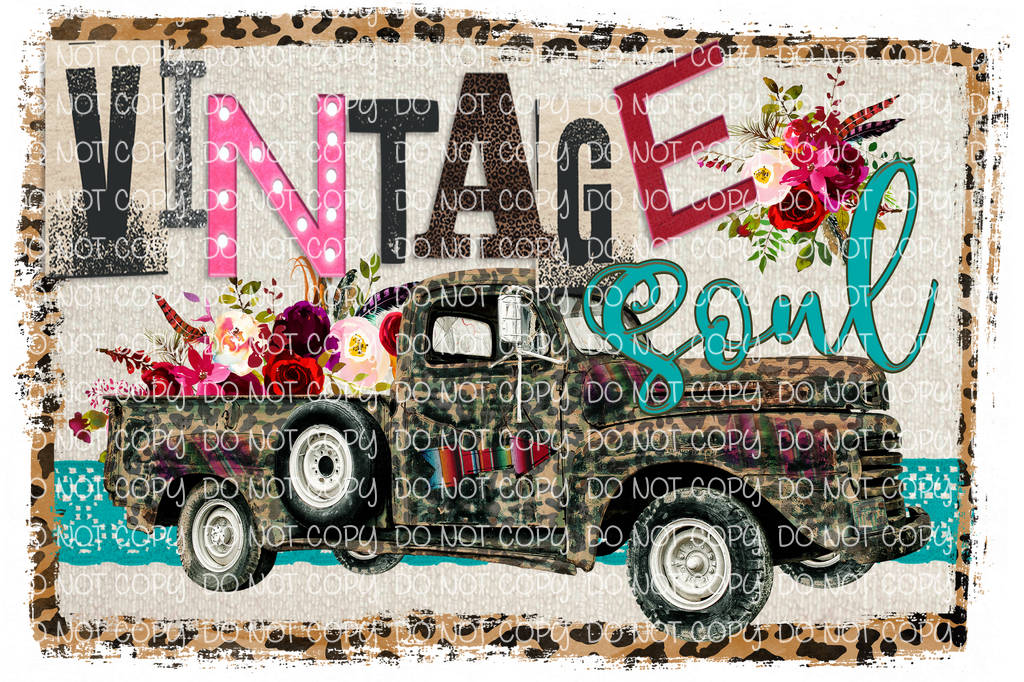 VINTAGE SOUL (SUBLIMATION)