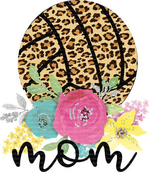 LEOPARD VOLLEYBALL MOM (SUBLIMATION)