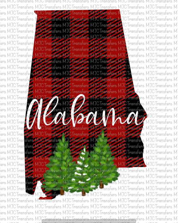 PLAID ALABAMA (SUBLIMATION)