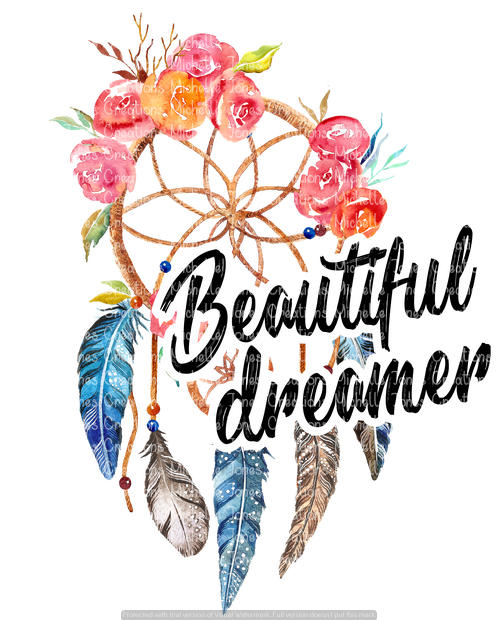BEAUTIFUL DREAMER (SUBLIMATION)