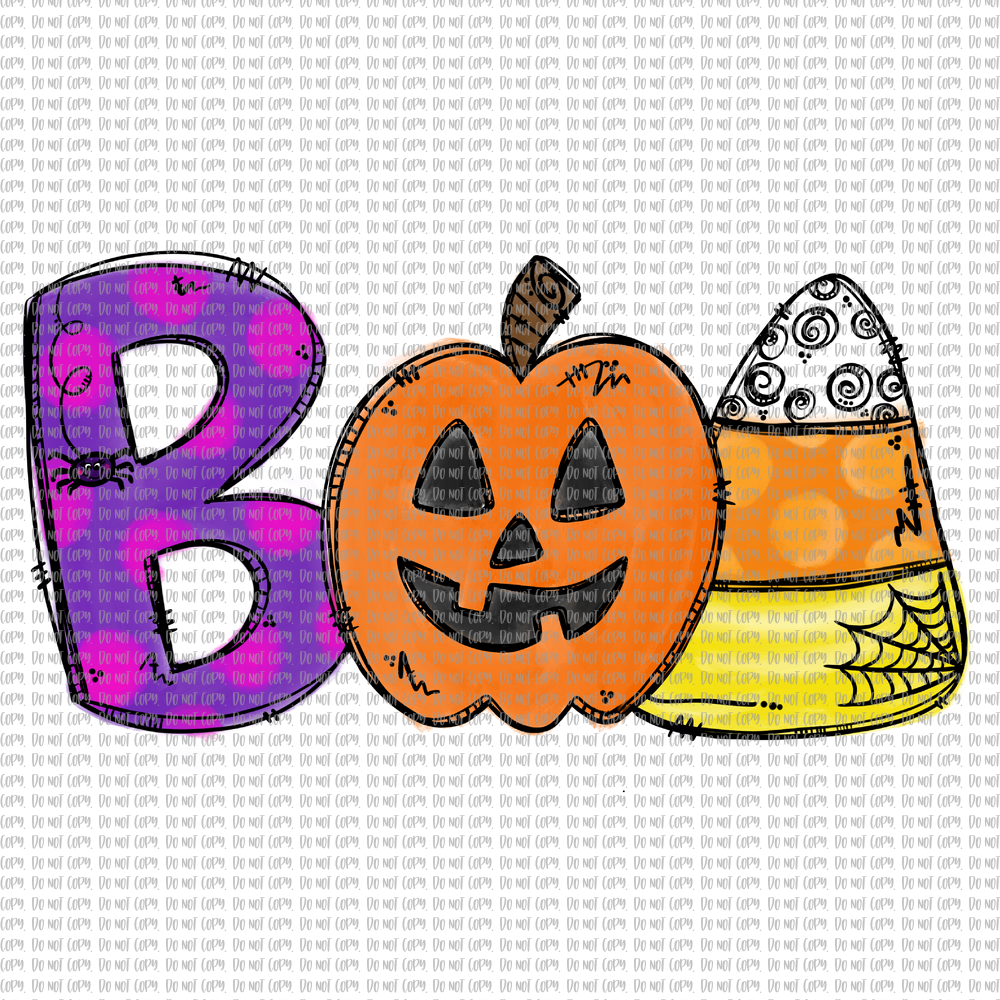 BOO (SUBLIMATION)