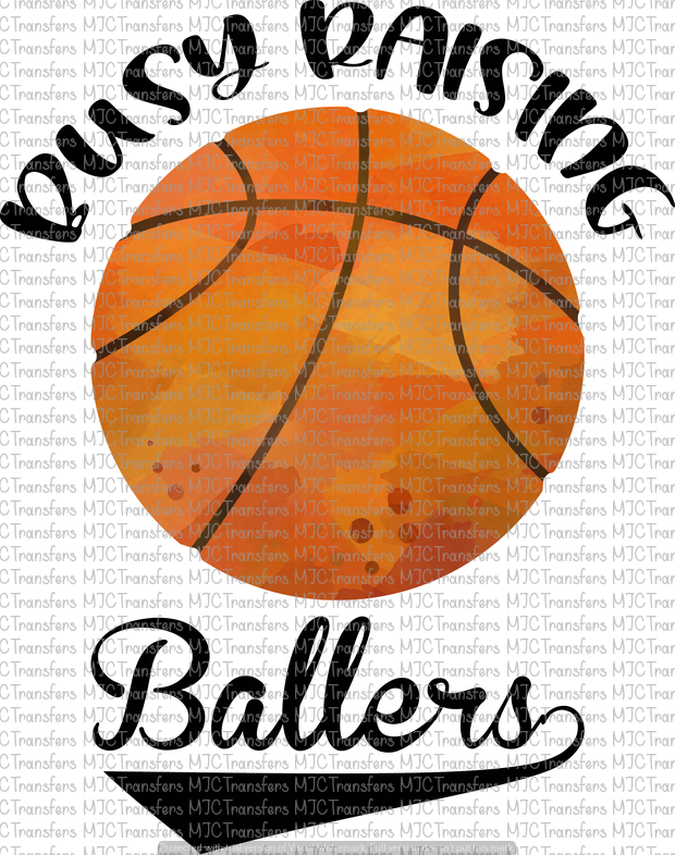 BUSY RAISING BALLERS (BASKETBALL) (SUBLIMATION)