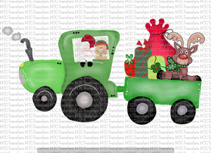 CHRISTMAS TRACTOR (SUBLIMATION)