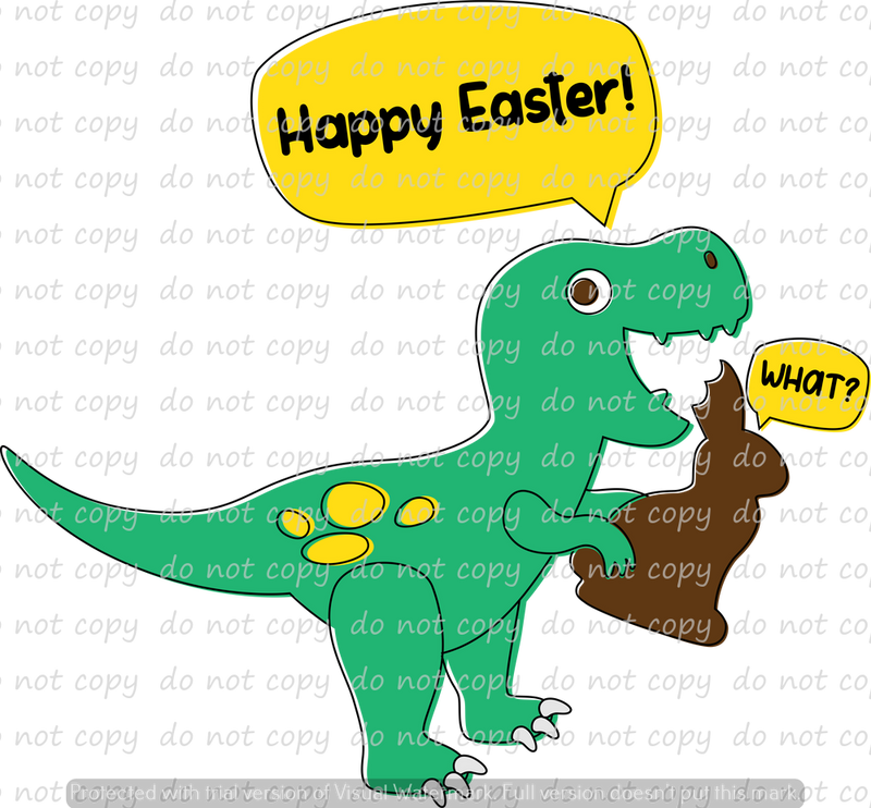 HAPPY EASTER......WHAT!! (SUBLIMATION)