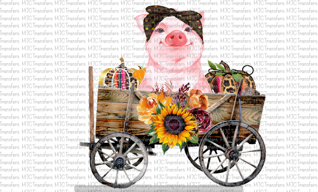 FALL PIG WAGON (SUBLIMATION)