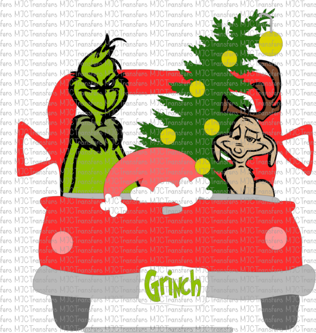 GRINCH TRUCK (SUBLIMATION)