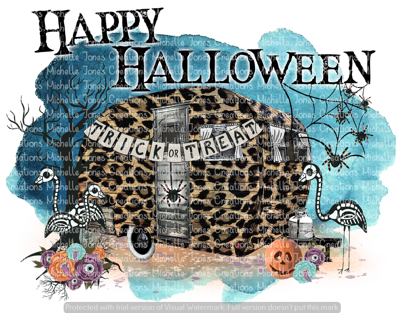 HAPPY HALLOWEEN (SUBLIMATION)