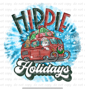 HIPPIE HOLIDAYS (SUBLIMATION TRANSFER)